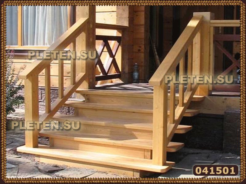 Деревянное крыльцо для частного дома своими руками