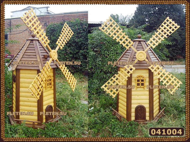 Поделки из дерева ветряная мельница 74