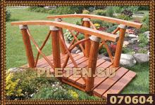 двухметровый садовый мостик