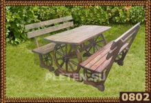 Деревянная мебель для дачи.